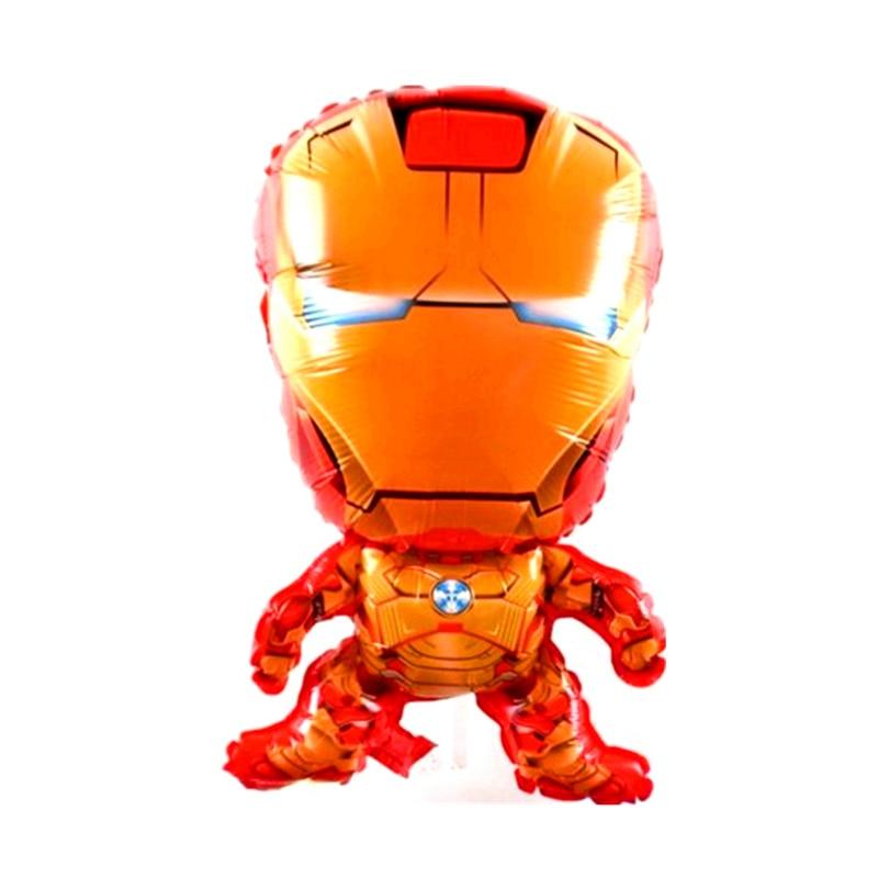 Big 3d Ironman Balloon Cartoon Helium Ballon for Kids Birthday Baby Shower Party Decor Supplies