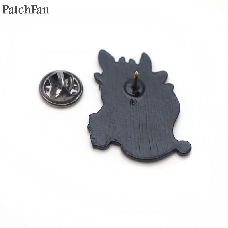 Patchfan train dragon night fury toothless Zinc tie Pins backpack clothes brooches for men women decoration badges medals A1656 in Badges from Home Garden