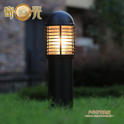 Online buy wholesale garden light pathway post from china garden villa lawn lamp post light garden pathway 220v110v outdoor landscape lighting decoration waterproof lights mozeypictures Image collections