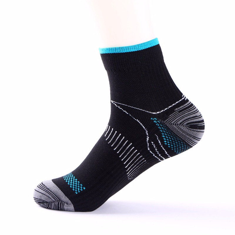 New  Fashion Sport Men Women Unisex Foot Compression Socks For Plantar Fasciitis Heel Spurs Arch Pain Breathable Socks