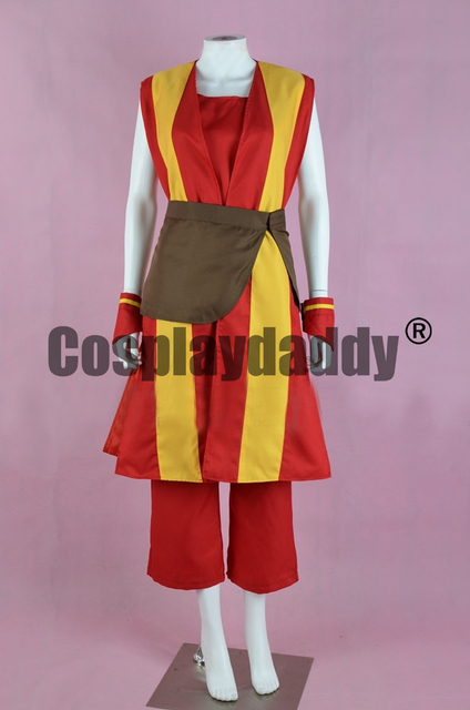 avatar the last airbender toph beifong fire nation version outfit