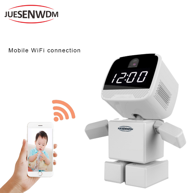 Smart Robot camera IP Camera Wifi HD Wireless Support Two-way Audio Wi-fi Night Vision Camera 1.3MP IP Network Camera 960P CCTV robot camera wifi 960p 1 3mp hd wireless ip camera ptz two way audio p2p indoor night vision wi fi network baby monitor security