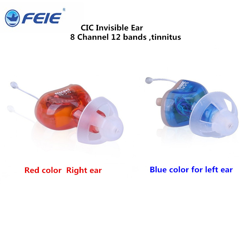 8 Channels CIC Hearing Aid invisible Prevent Tinnitus Masker Professional Digital Hearing Amplifiers music S-17A drop shipping aparelho auditivo 8 channel cic hearing aid loss for severe deaf s 17a earphone headphone headset drop shipping