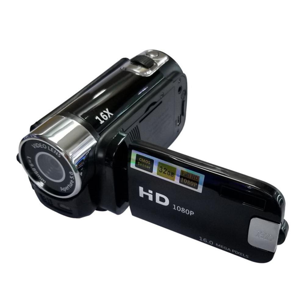 Portátil Full HD 1080P 270 Graus Sports Vidicon 16MP Filmadora Digital de Alta Definição DV ABS Rotação Câmera de Vídeo FHD câmeras