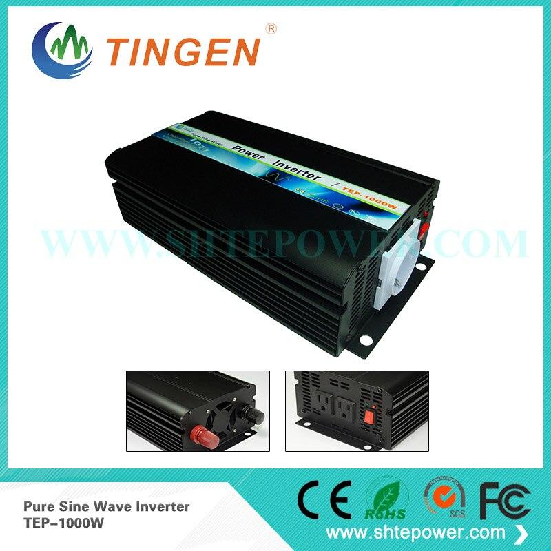 Pure sine wave solar inverter 1000w for home, 48v volt converter to 240v ac inverter, dc to ac power converter все цены