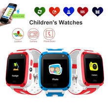 Kids Smart Watch Anti-lost Kids Safe GPS Tracker SOS Call GSM For Android IOS(China)