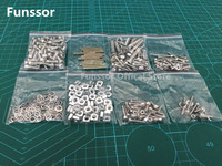 A Funssor K800 Screw Nut BOM Washer Metric Hardware Kit Nuts Washers Bolts For DIY Delta