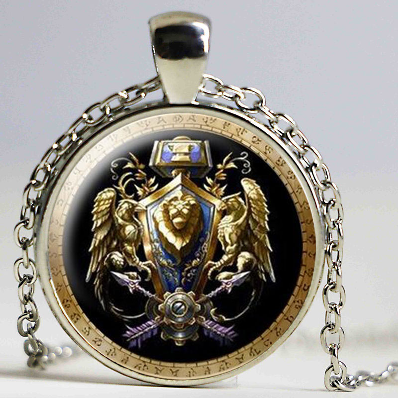 Newest Movies Jewelry Necklace Wow World Of Warcraft Undead Horde
