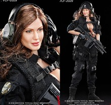 1:6 scale Super flexible military figure Sexy Female Shooter Black ver. 12″ action figure doll Collectible Model plastic toys
