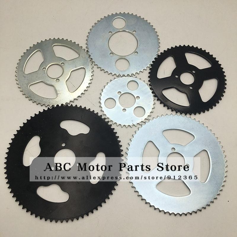 38 44 54 64 74 Tooth 44T 54T 64T 74T T8F 35MM Rear Sprocket Mini Moto ATV Quad Dirt Pit Pocket Bike Cross 47cc 49cc Parts