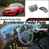 Litanglee Car Accelerator Pedal Pad / Cover of Original Factory Sport Racing Model Design For SEAT Leon 1M 1999~2006 Tuning