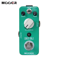 NEW Effect Pedal MOOER Green Mile Overdrive Pedal 2 Overdrive Modes Excellent Sound