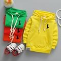 2017 nueva primavera ropa deportiva para niños