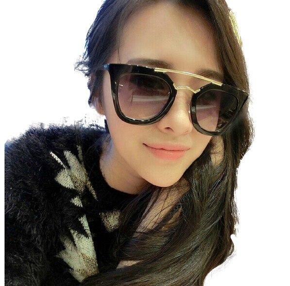 New 2016 mulheres óculos de sol preto fashion designer óculos para meninas  acessórios gota de compras em Óculos de sol de Acessórios de vestuário no  ... 34e5aa5e5f