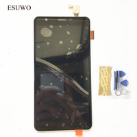 ESUWO LCD Display Assembly For Oukitel U15 Pro LCD Display Touch Screen Digitizer Glass Panel Replacement