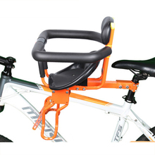 Front Seat Mat Children Bike Seats Stainless Steel Plastic Mountain Road Folding Electric Bike Safety Chair For Kids Boy Girl 2018 time limited hot sale baby chair children bicycle seats electric mountain bike for baby seat belt quick release chair