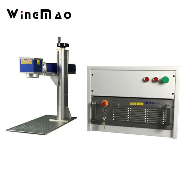 100W Metal Fiber Laser engraving and fiber laser cutting machine