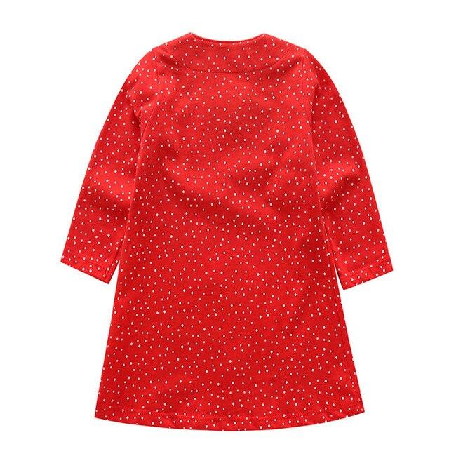 Robes sautantes à rayures pour filles   Robes tricotées en coton pour enfants, vêtements à la mode pour bébés filles, frocs, collection, vêtements à la mode