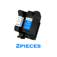 XiongCai Compatible ink cartridges For HP 45 78 deskjet 1220c 3820 3822 6122 6127 920c 932c 940c 950c printers For HP45 For HP78