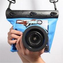 Underwater 20 M SLR DSLR Saco Da Câmera À Prova D' Água de Alta Qualidade Grande Desconto para Nikon Canon Câmera Habitação Mergulho Bolsa Seca caso