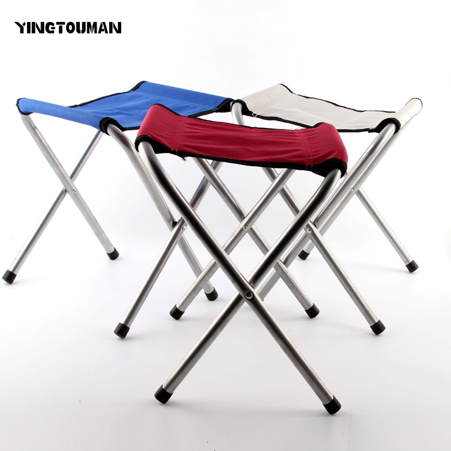 YINGTOUMAN Traveling <font><b>Chair</b></font> Slacker Folding Tripod Camping Stool Foldable Portable Fishing Camping Outdoor <font><b>Chairs</b></font> Seat Portable