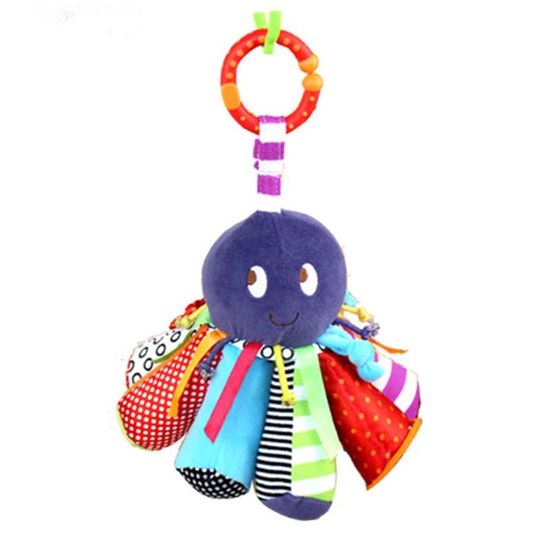 Baby Rattle ութոտնուկի խաղալիքների - Խաղալիքներ նորածինների համար - Լուսանկար 2