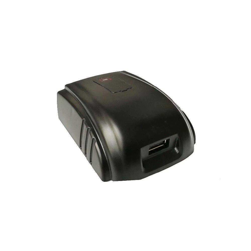 Замена источник питания для Милуоки 49-24-2371 M18 Зарядное устройство USB Power конвертер зарядное устройство сотового телефона