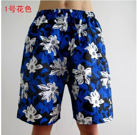 e7935128a4e57 2018 free shipping Hawaiian Beach Trunks Mens Board Patterned Shorts  Trousers Sand Beach Short Leisure Pant Trouser