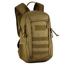 Schutz Plus 12L Leicht Robust Rucksack Außerhalb Camouflage Reise Wasserdicht Bergsteigen Laptop Militärbeutel Defoe 5