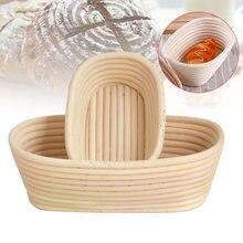 1 pçs natural rattan proofing cesta pão fermentação recipiente de armazenamento wxv venda
