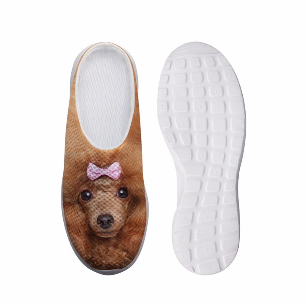 Noisy Designs Women s Shoes House Slippers Biology 3D Pet Dog Cute Cat Prints Summe Slippers for Children Slip-on Sandals