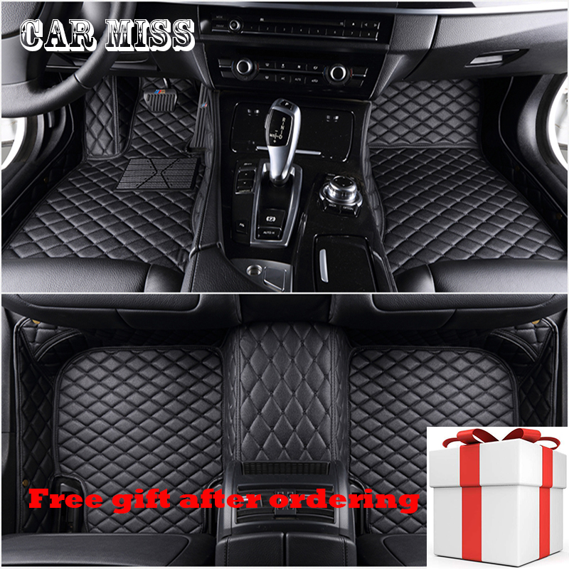 Car Miss Custom Car Floor Mats For Bmw Audi Mercedes Honda Toyota For Vw Kia Hyundai Nissan Ford Auto Accessories Car Mats(China)