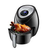 Air Fryer Large Capacity Air Fryer Multi function Household Smoke free Electric Frying Pan Smart Touch Screen Fries Machine