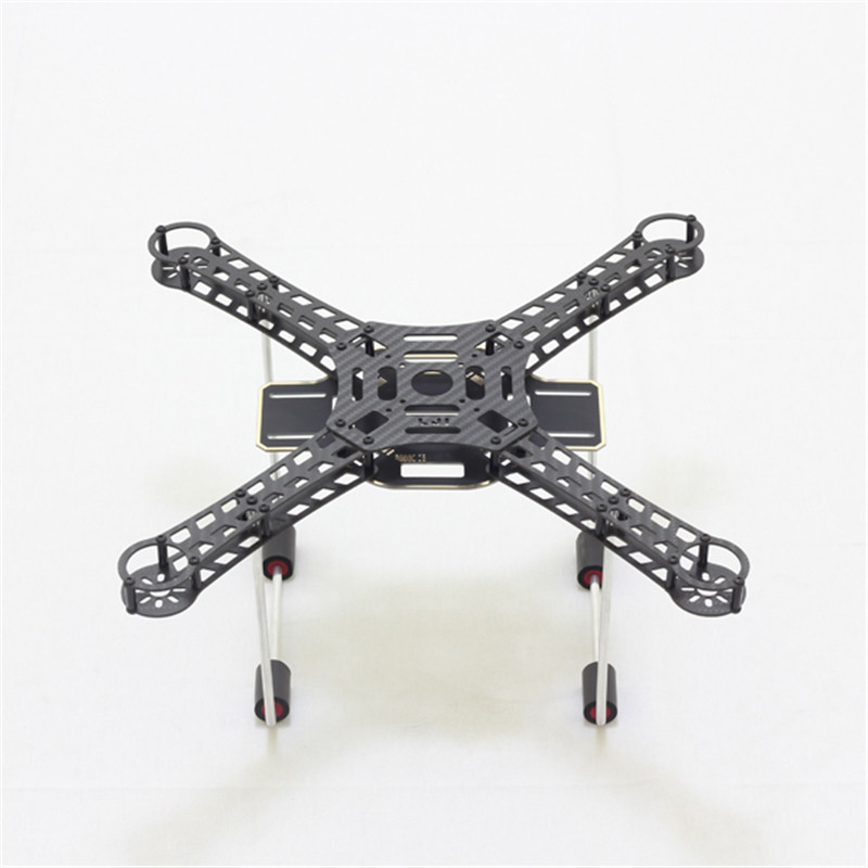 Tarot LJI 380 X4 380mm Wheelbase Carbon Fiber DIY Mini Quadcopter Frame Drone PCB Board with Aluminum Landing Gear Skid FPV hml350pro fpv auto retractable landing gear skid controller for phantom 1 2 vision fc40 rc quadcopter diy drone f16326