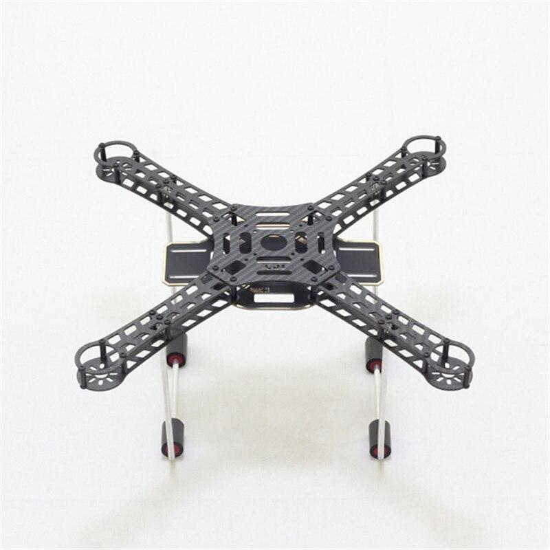 Tarot LJI 380 X4 380mm Wheelbase Carbon Fiber DIY Mini Quadcopter Frame Drone PCB Board with Aluminum Landing Gear Skid FPV