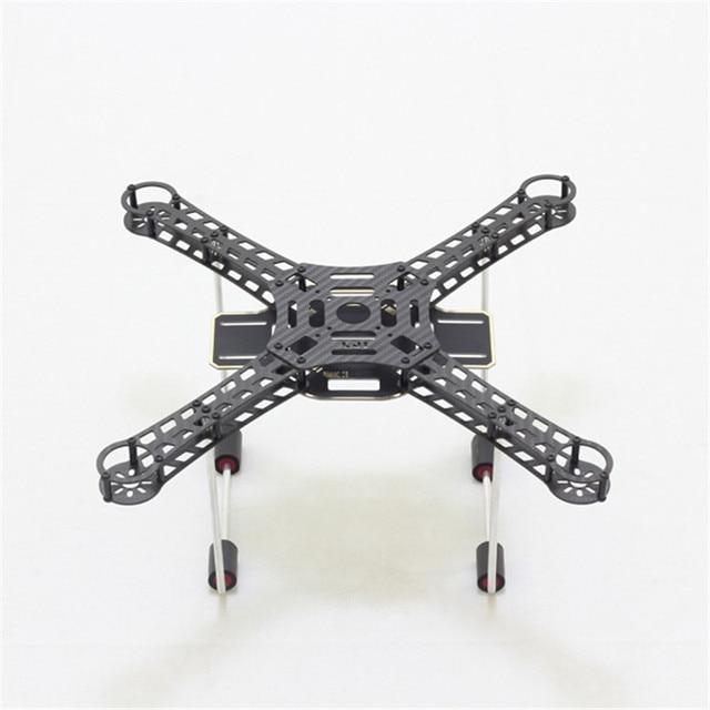 Tarot LJI 380X4 380mm rozstaw osi z włókna węglowego DIY Mini rama quadcoptera Drone płytka PCB z aluminium zestaw do lądowania poślizg FPV