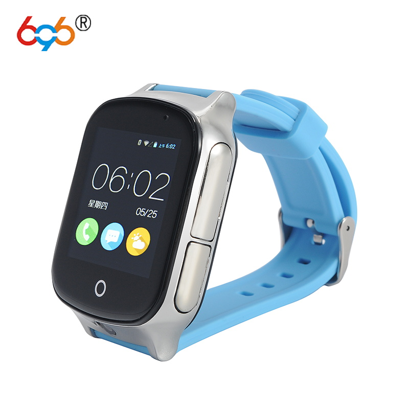 696 Smart watch Kids Wristwatch A19 3G WIFI GPS Locator Tracker Smartwatch Baby Watch With Camera For IOS Android Phone free shipping new smart watch kids wristwatch 3g gprs gps locator tracker anti lost smartwatch baby watch with remote camera