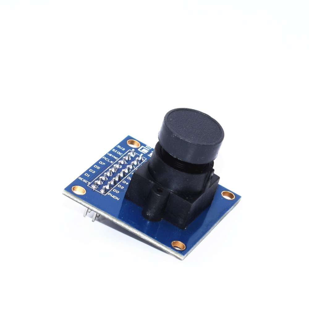US $1 61 5% OFF|1pcs OV7670 camera module Supports VGA CIF auto exposure  control display active size 640X480 For Arduino-in Integrated Circuits from