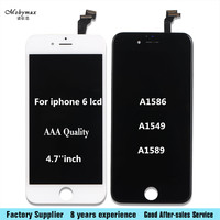 AAA High Quality Screen For IPhone 6 4 7 Inch A1586 A1549 A1589 LCD Replacement Display