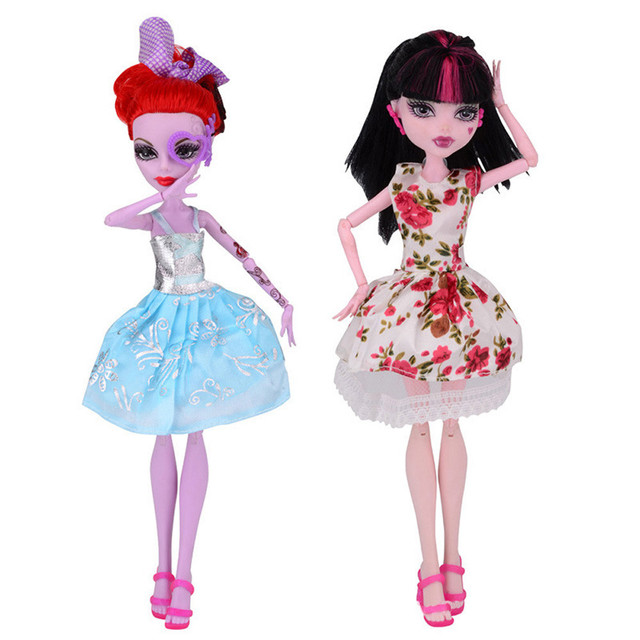 cool fashion handmade princess dress clothes gown for monster high