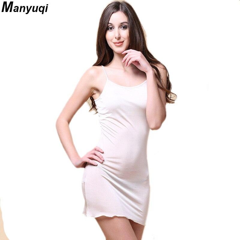 56c2d6bc7 100% das mulheres de seda pura camisola suspensórios sexy início roupões  para as mulheres cor sólida feminino roupa mini vestido Loja Online