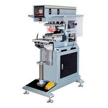 automatic single color helmet pad printing machine single color pad print
