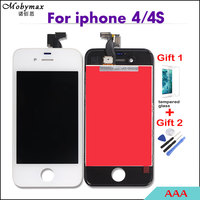 Competitive AAA For IPhone 4 4s Screen Assembly Touch Digitizer LCD Display For Iphone4 Frame Pantalla