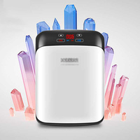 KM-15L 15L 72W DUAL-CORE Digital Display Car Mini Refrigerator Fridge Refrigeration Heating Household Home Car Use 12V/220V
