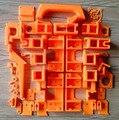FoldaRap2.5 Reprap 3D Принтер Печатной Комплект Деталей FoldaRap Пластик Комплект Деталей ABS Материал, высочайшее Качество
