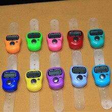 2017 New Arrival Mini Digital Finger Rings Tally Counter Hand Held Knitting Row Counter Clicker Tasbee