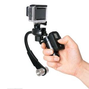 Image 2 - Mini Handheld Kamera Stabilisator Stetige 3 Farben Unterstützt für GoPro Hero 8 7 6 5 4 Sitzung Sjcam Sj8 M10 yi 4K Eken Action Kamera