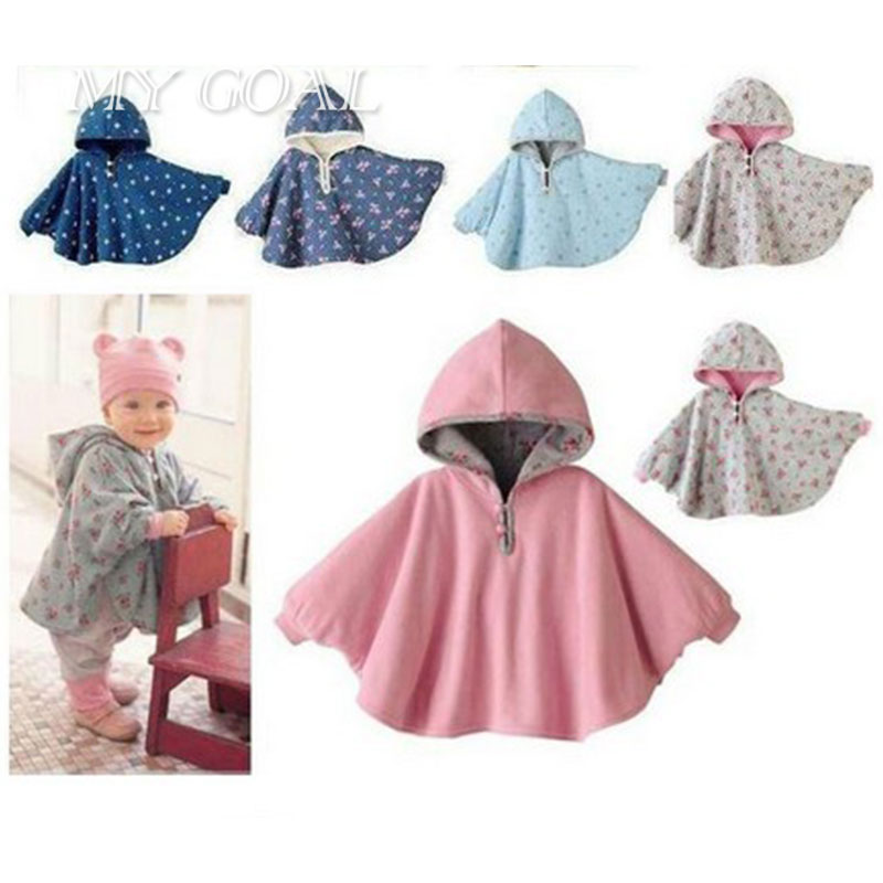 Baby Coats boys Girl's Smocks Outwear Fleece cloak Jumpers mantle Children's clothing Poncho Cape