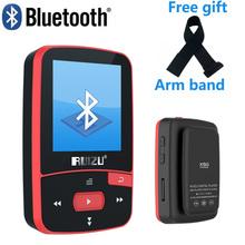 Klip mp3 obsługi HOTT nowy przenośny MINI MP3 odtwarzacz 8 GB sportowy krokomierz Bluetooth MP3 odtwarzacz muzyczny Radio FM karty TF 1 5 ekran stoper tanie tanio ruizu x50 Flac Dyktafon Zegar światowy Przeglądarka zdjęć E-czytanie książki Pedo metr Dotykowy Tone Polimerowa Bateria