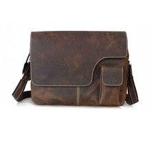 Cattle tiding vintage fashion male one shoulder cross-body 15 briefcase laptop bag man bag 1092